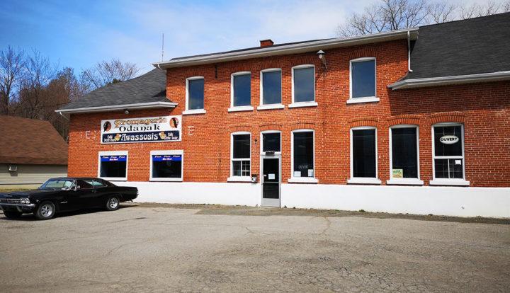L'entreprise Fromagerie Odanak, située à Odanak.