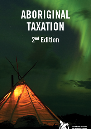 Brochure about Aboriginal Taxation