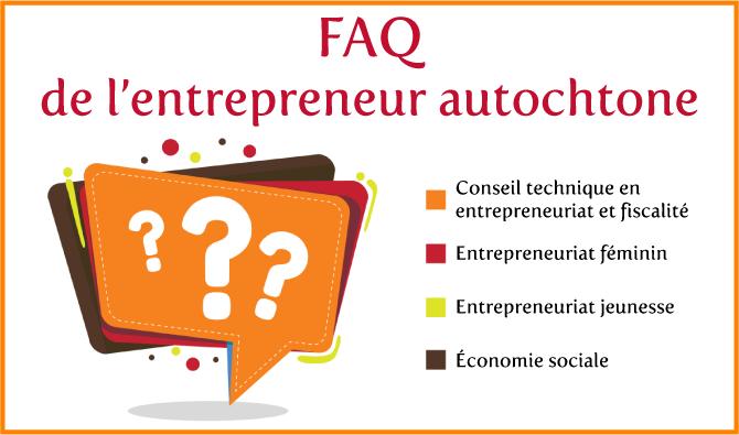 FAQ de l'entrepreneur autochtone