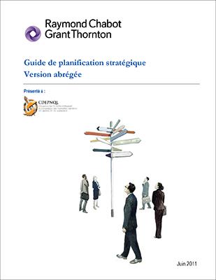 Guide de planification stratégique, version abrégée