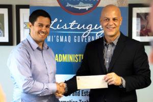 Listuguj est l'un des actionnaires de l'entreprise Zenabis Global inc.