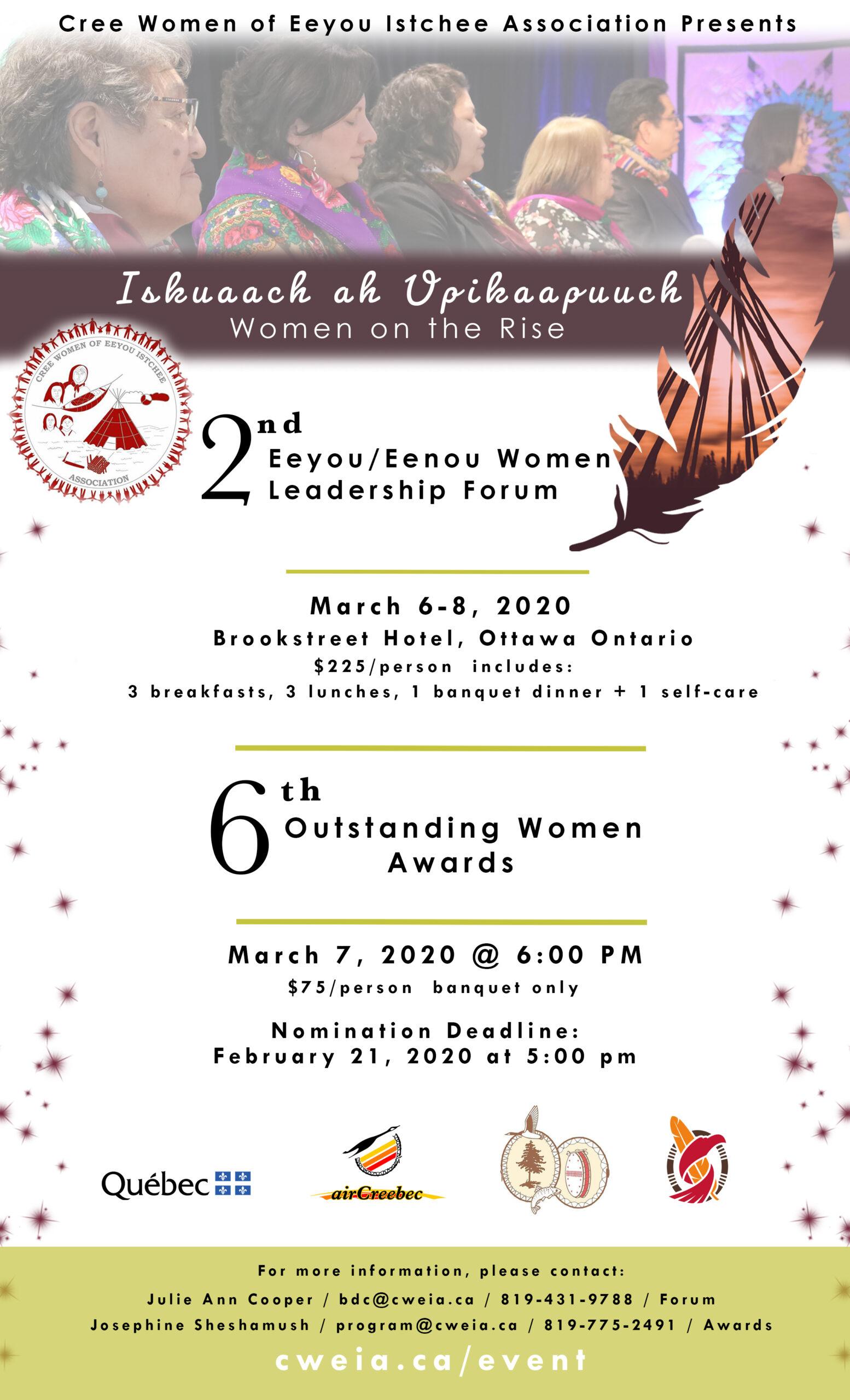 Forum leadership femmes Eeyou