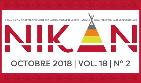 Bulletin Nikan d'octobre 2018