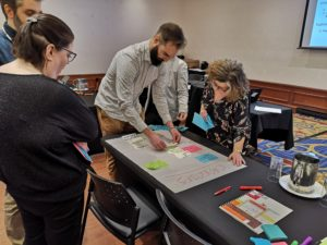 Participants were able to deepen the concepts seen in practical workshops.