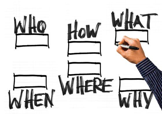 Qui, comment, quoi, quand, où et pourquoi, toutes des questions qu'il est bon de se poser lorsque l'on fait rédige plan d'urgence.