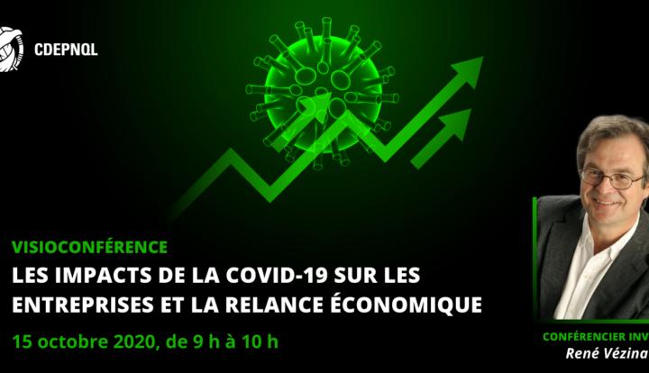 Les impacts de la COVID-19 sur les entreprises et la relance économique