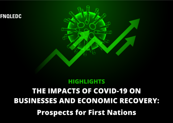 This article summarizes the highlights of the conference The impacts of COVID-19 on businesses and economic recovery, which was presented by Mr. René Vézina on October 15, 2020.