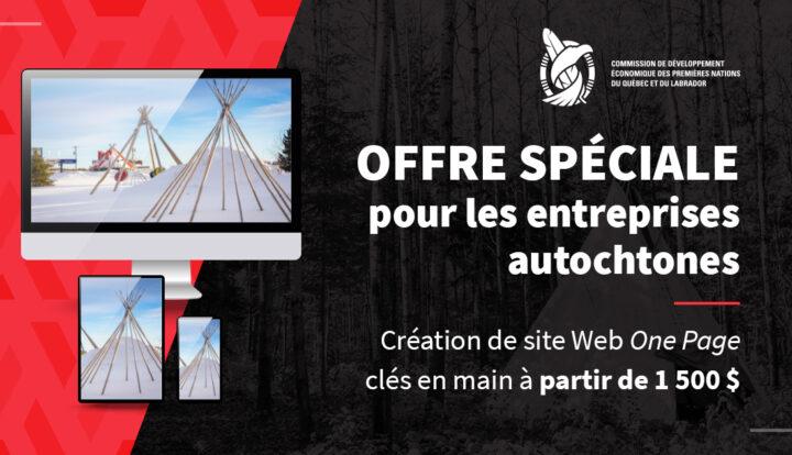 Offre spéciale : Site Web à partir de 1 500 $