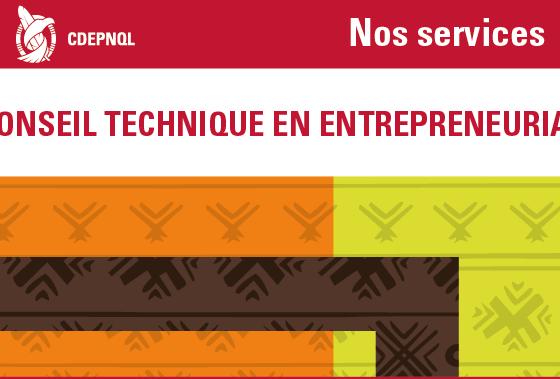 Conseil technique en entrepreneuriat