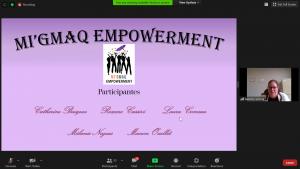 Équipe de Gespeg : Mi'gmaq empowerment