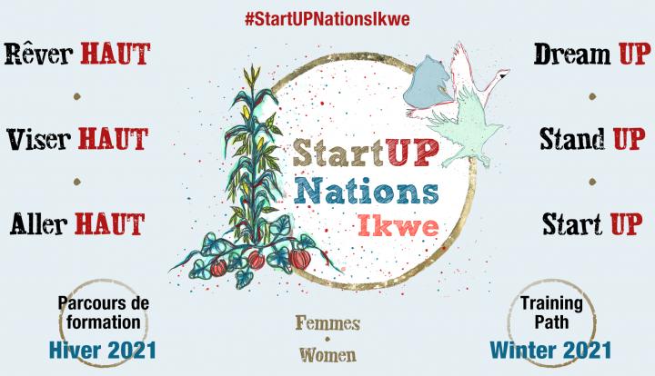 Les cultures autochtones à l'honneur au StartUP Nations Ikwe 2021