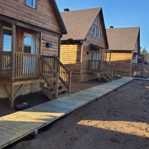 Innuberge : Tourist cabins in Unamen Shipu